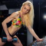 IFBB bikini fitness athlete