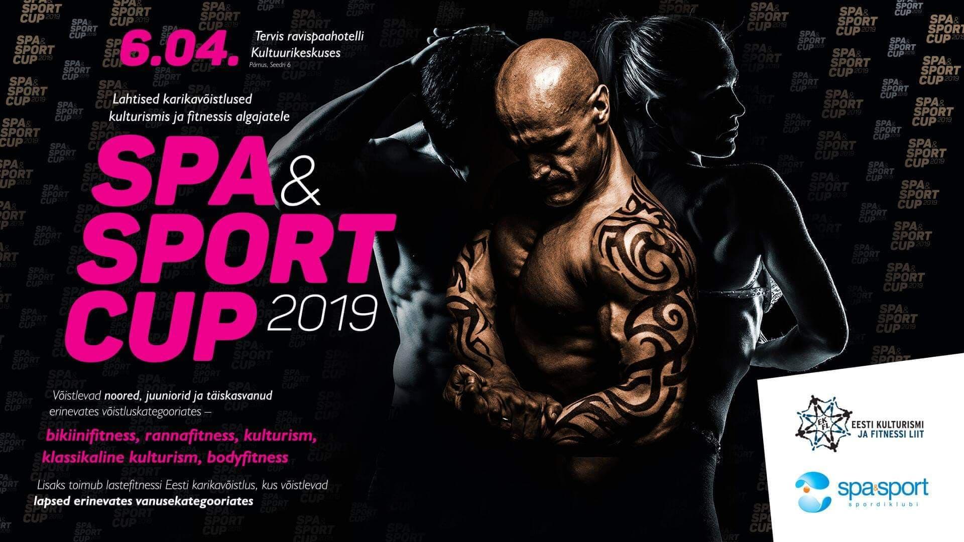 Spa & Sport CUP 2019 võistlejatele