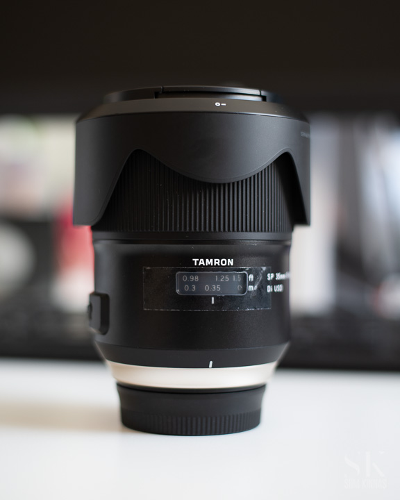 Tamron 35 mm f/1.4 hero portrait