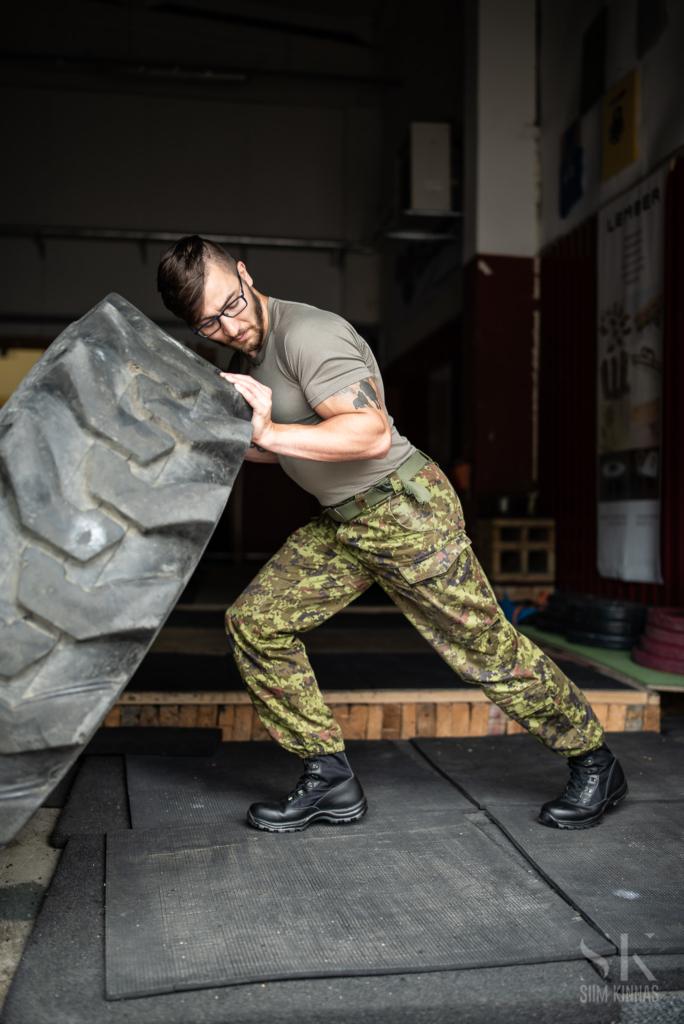 Portrait of Jaanus, liutenant at Estonian Defence Forces