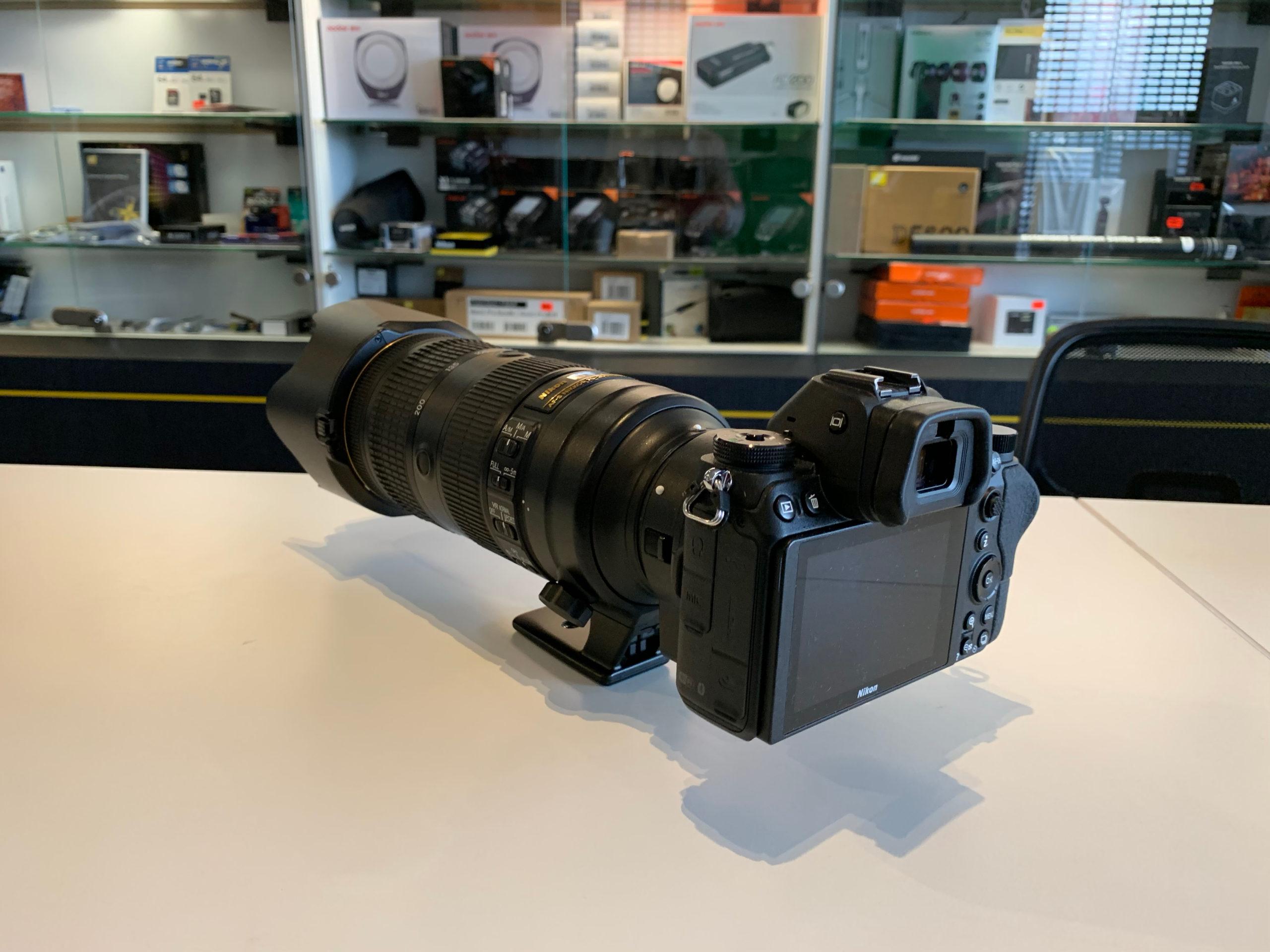 Nikon Z6 rear view
